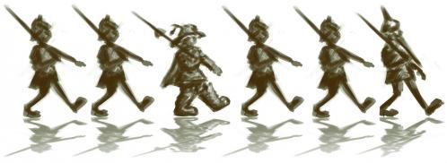 La troupe de garde r